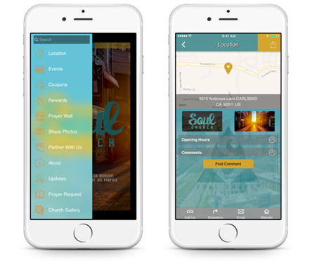 Church App Image